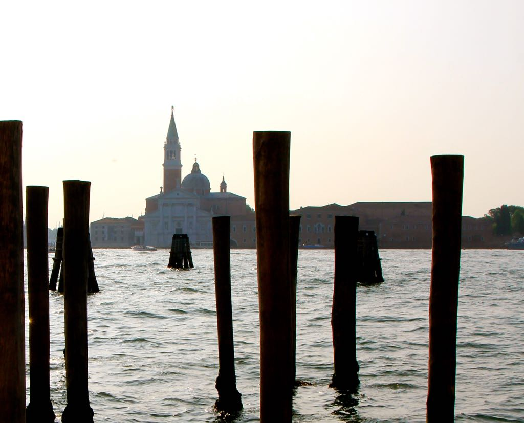 Venice early morning, across the Grand Canal