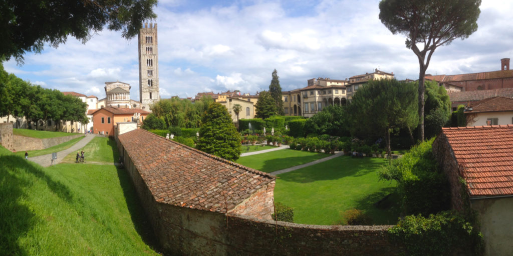 Into Lucca from the walls | digital nomad
